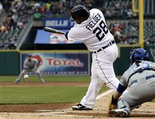 Detroit-Tigers-Prince-Fielder-hits-a-grounder