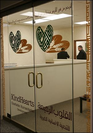 The KindHearts for Charitable Humanitarian Development Inc.'s office.