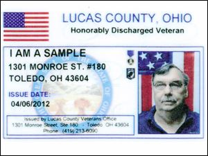 Lucas County Veterans Service Commission has announced new ID cards for honorably discharged veterans.