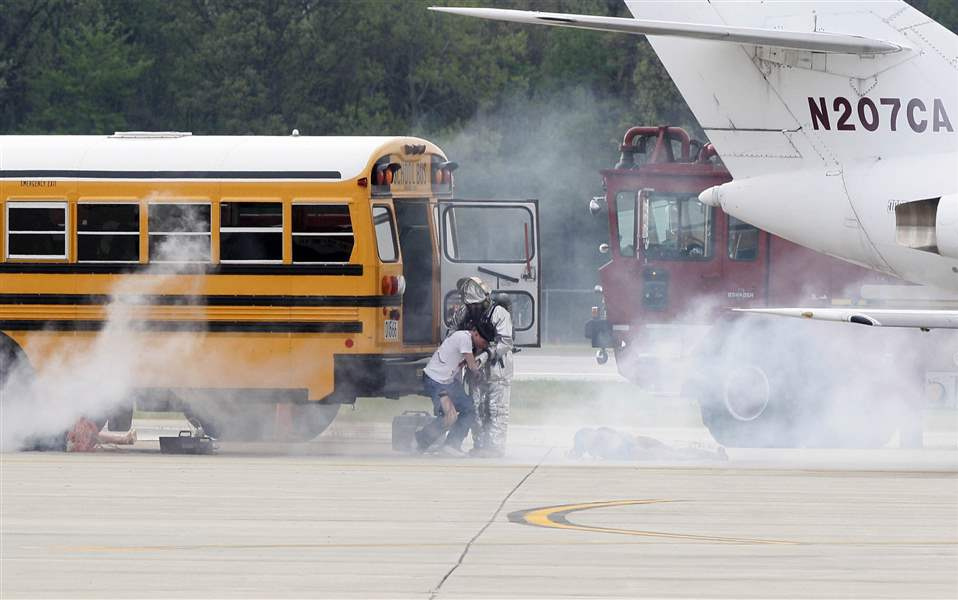 Disaster-drill-at-the-airport-draws-scores-of-responders