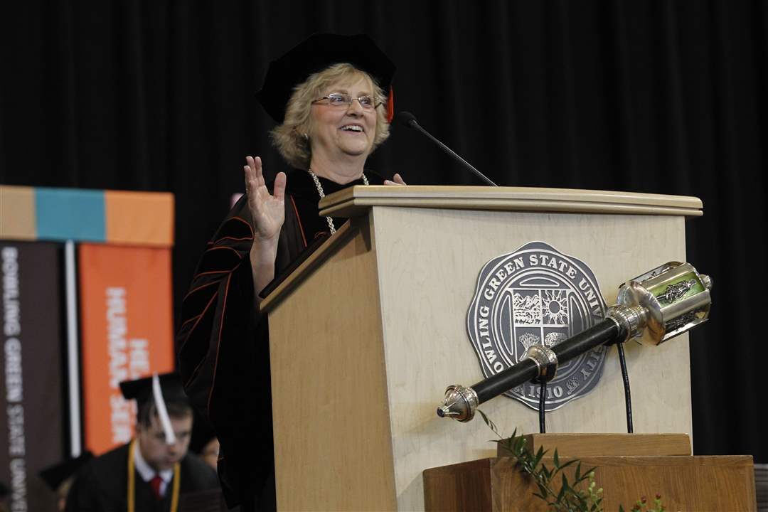 BGSU-president-Mary-Ellen-Mazey-speaks