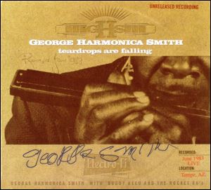 'Teardrops are Falling' by George Harmonica Smith and The Rocket 88's.