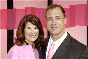 Stefanie and Chris Spielman devoted themselves to battling her breast cancer, which was diagnosed in 1998. She died in 2009 at 42.