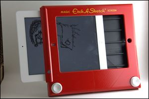 Etch-A-Sketch for iPad.