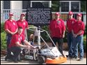 Students from Owens Community College Automotive Program, the Bowling Green State University Motorsports Club, and College of Technology Sustainability Technology class prepared to run their all-electric powered EV karts last week.
