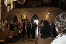 Police-officer-honor-guard-during-Blue-Mass