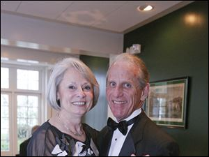 Diane Tousley, left, and her husband Tom Tousley.