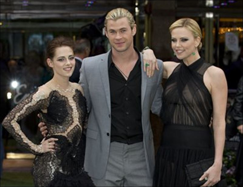 Hemsworth, and Charlize Theron star in 'Snow White and the Huntsman