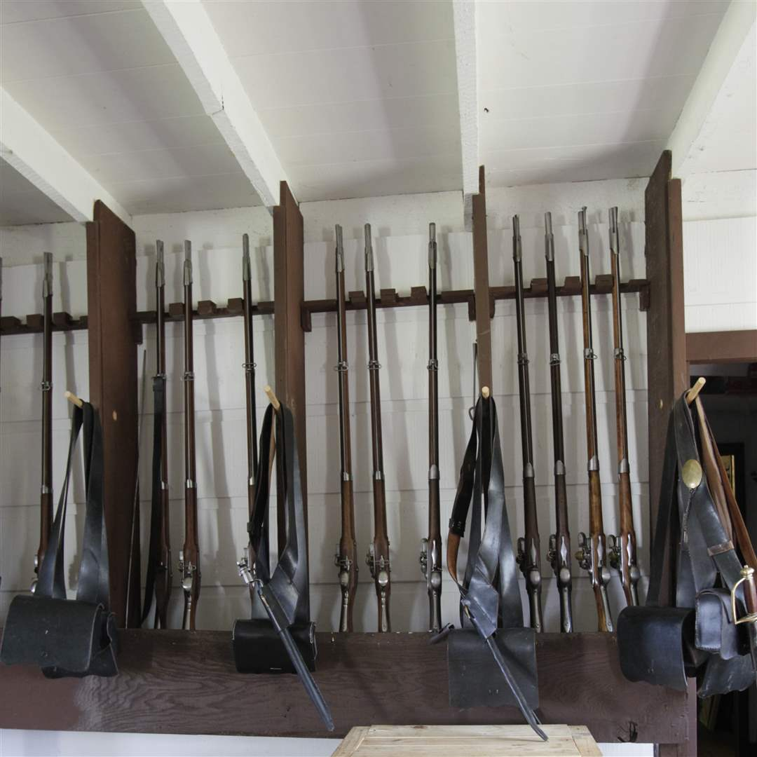 supplies-at-quartermaster-building-fort-meigs