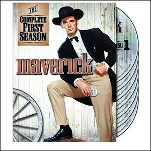 James Garner portrayed Bret Maverick in the classic TV series.