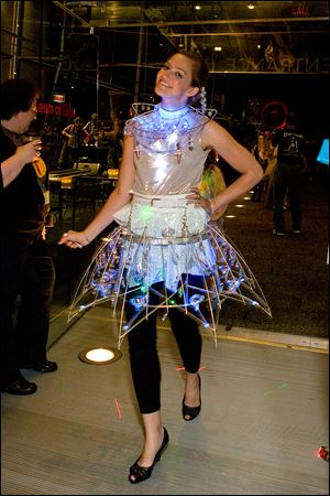 Glass costumes can take anywhere from two hours to two years to design.
