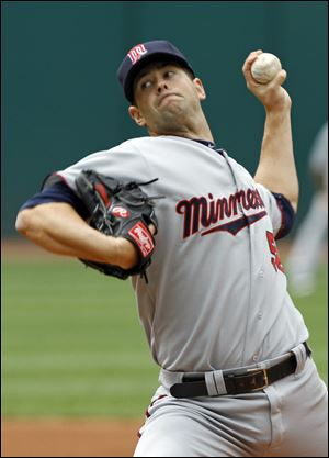 Minnesota Twins starting pitcher Scott Diamond.