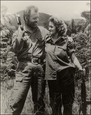 William Morgan, from Toledo, and his wife, Olga, in the mountains of Cuba, met as rebel fighters. He became a prominent commander but was executed. For years, his wife, now Olga Goodwin, has tried to bring his body back.