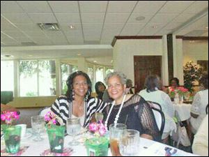 Deborah Barnett and Althea Baldwin.