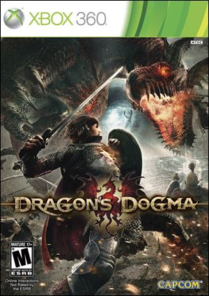 Dragon's Dogma; Grade: 3.5 stars; Platforms: Xbox 360, PlayStation 3; Genre: Role-playing; Publisher: Capcom; ESRB Rating: M for Mature.