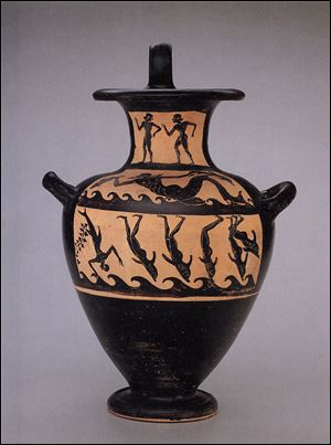 The 20-inch-tall water jug has been on view at the Toledo Museum of Art since its purchase in 1982. The painting on it depicts the Greek tale of Dionysos, god of wine and drama. The museum will return it to Italy soon.