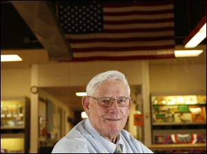 Sam Burnett, 80, is one of 17 Ohioans selected by the National Committee to Preserve Social Security and Medicare to go to the nation's capital next week to meet with congressional and administration officials.