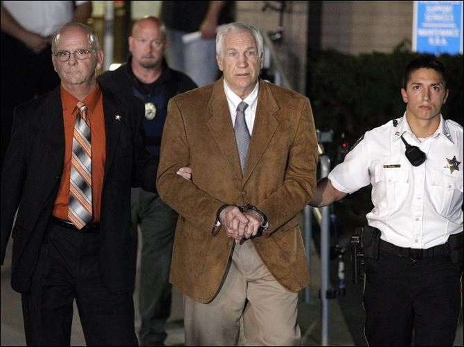 SANDUSKY FOUND GUILTY ON CHILD SEX ABUSE CHARGES; APPEAL EXPECTED