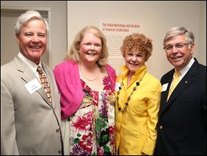 Gene and Judy Pearson, left, with Pam and Bill Davis.