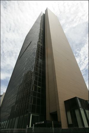 The 28-story Fiberglas Tower, renamed the Tower on the Maumee, has been vacant since 1996.