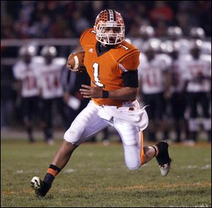 Southview High School's QB Austin Valdez will play football next season at BGSU.