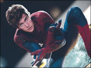 Andrew Garfield is Peter Parker in 'The Amazing Spider-Man.'