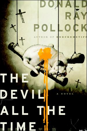 Pollocks' most recent novel 'The Devil All The Time' which comes out in paperback July 10.
