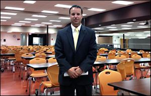 Principal Chad Kolebuck led King Academy for Boys as it made gains last year. He left for a big salary raise in the Sylvania system.