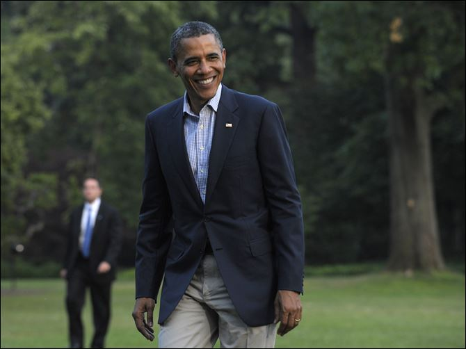 Obama to visit Maumee President Obama will make a stop on the grounds of the Wolcott House Museum in Maumee Thursday. The event is open to the public, but attendees must have a  ticket to enter.