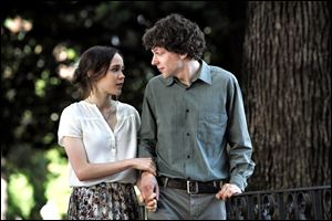 Ellen Page as Monica and Jesse Eisenberg as Jack star in Woody Allen's new movie, 'To Rome With Love.'