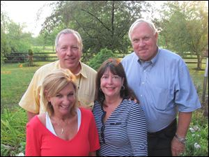 Jack and Cindy Sculfort,  Bob and Sandy Pollex.