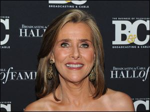 Television personality Meredith Vieira.
