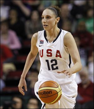 Diana Taurasi has missed the Phoenix Mercury's last 16 games with a hip flexor and ankle injury, but said she is 'feeling really good and ready to go' when the Olympic Games open.