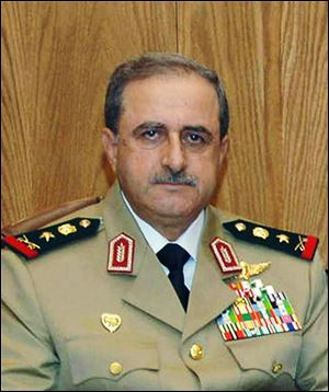 Syrian Defense Minister Gen. Dawoud Rajha in Damascus, Syria. Syria's state-run TV says the country's defense minister has been killed in a suicide blast in the capital.