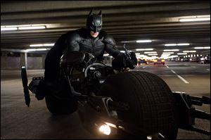 Christian Bale is Batman in 'The Dark Knight Rises.'