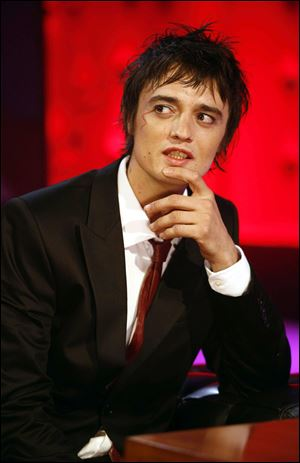 British rocker Pete Doherty.