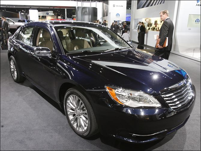 BIZ autoshow11p The Chrysler 200 is the top-selling single model locally this year through June with 328 bought from dealers.