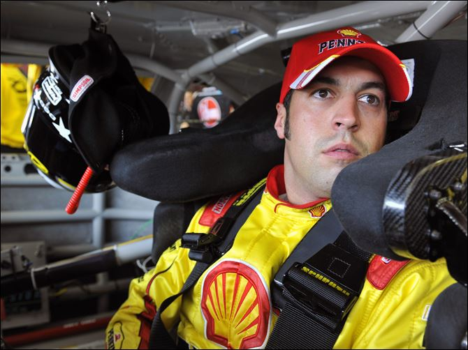 NASCAR New Hampshire Auto Racing Sam Hornish, Jr., said he feels bad for AJ Allmendinger, but he is grateful for another chance in the Sprint Cup.