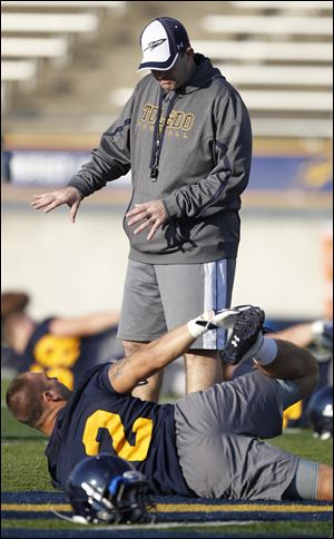 New University of Toledo defensive coordinator Tom Matukewicz made a daring career move this offseason when he accepted a job with Northern Illinois' bitter rival in the Mid-American Conference.