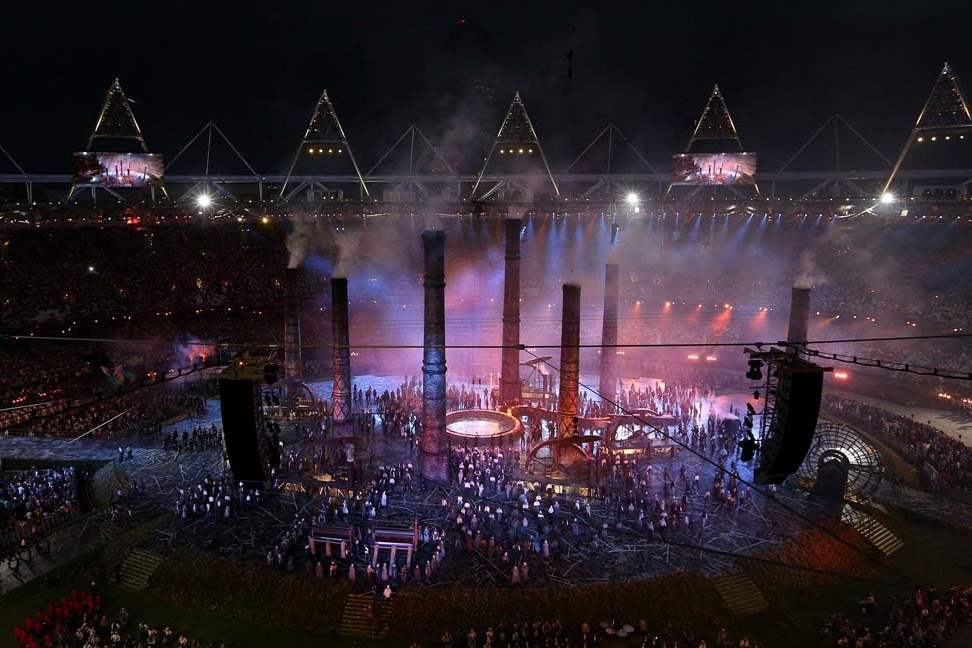 Chimneys-rise-during-the-Opening-Ceremony