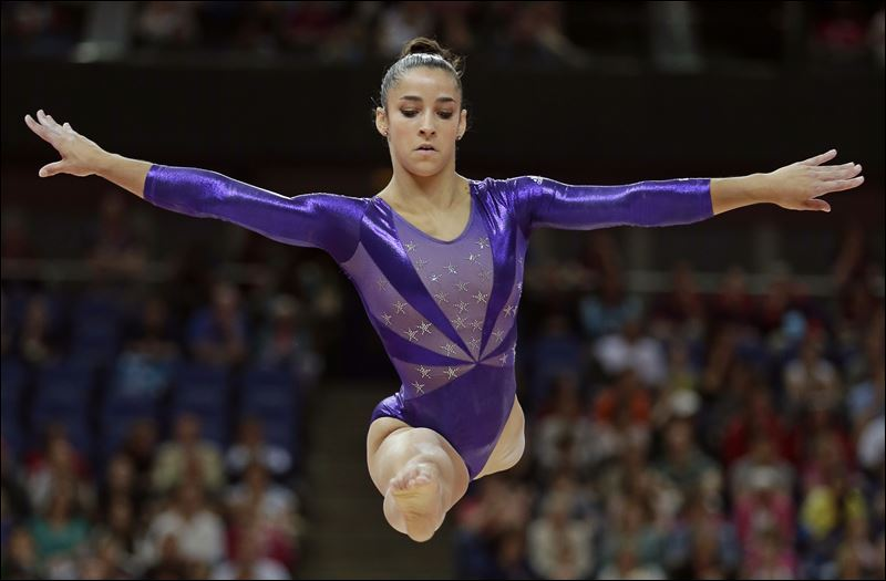 Gymnastics Women Aly Raisman helped the U.S. women's gymnastics