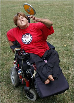 Zena Cole, who was paralyzed by polio, will compete for the United States in the Paralympic Games in August and September.