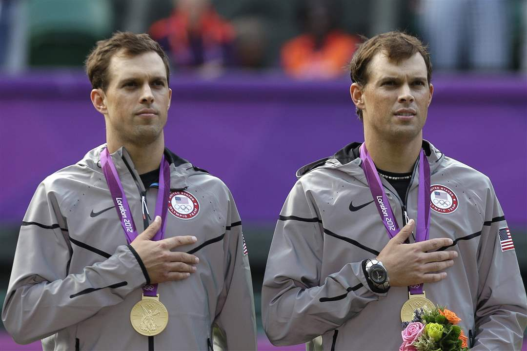 Gold-medalists-Mike-Bryan-left-and-Bob-Bryan