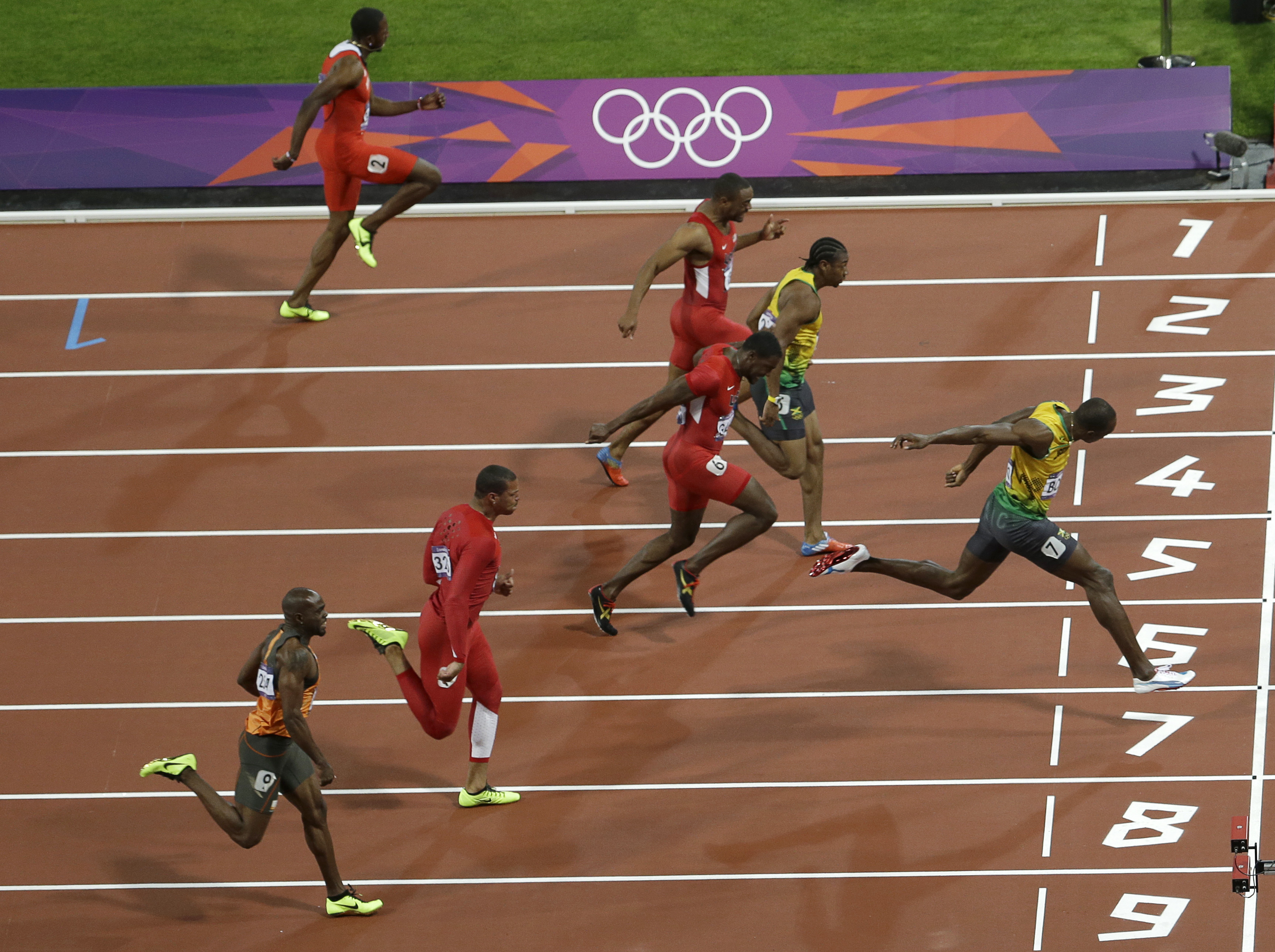 storm drenches jamaica but not joy over bolt win the blade