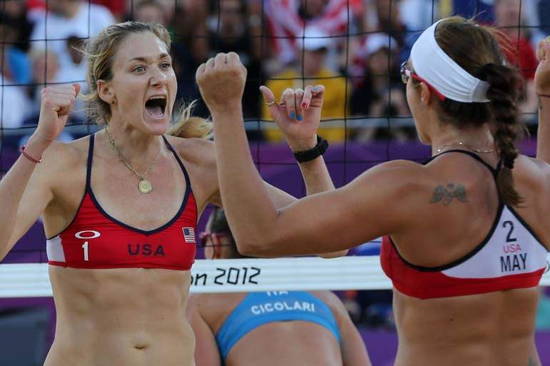 London-Olympics-Beach-Volleyball-Women-1