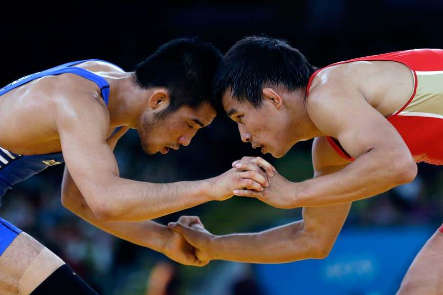 London-Olympics-Wrestling-Men