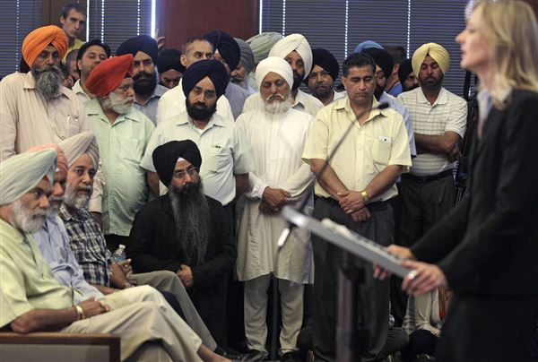 temple Blade at Sikh Police ID - attacker The