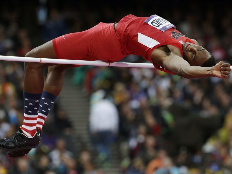 kynard gets silver medal in olympic mens high jump