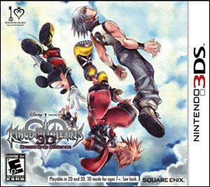 Kingdom Hearts 3D: Dream Drop Distance; Grade: 2.5 stars; System: 3DS; Published by: Square Enix; Genre: Action; ESRB rating: Everybody 10+