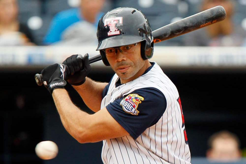 Toledo-Mud-Hens-player-John-Lindsey-lets-a-ball-go